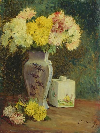 The Chinese Pot, Manet's Studio-Jacques-emile Blanche-Giclee Print