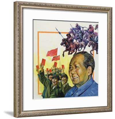 The Chinese Puzzle--Framed Giclee Print