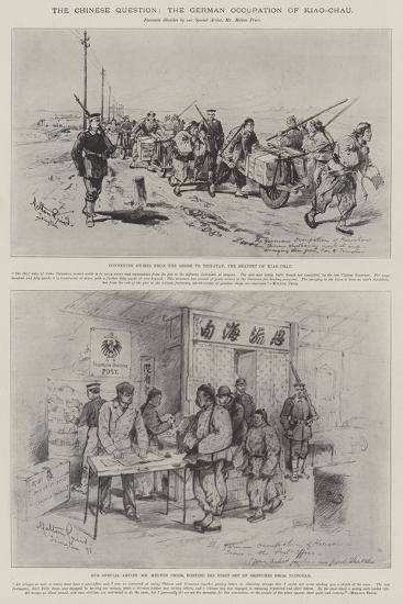 The Chinese Question, the German Occupation of Kiao-Chau-Melton Prior-Giclee Print