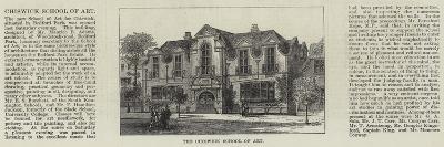 The Chiswick School of Art--Giclee Print