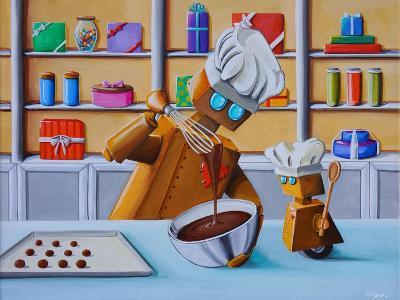 The Chocolatiers-Cindy Thornton-Art Print
