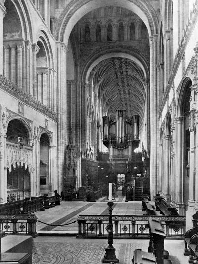 The Choir, Norwich Cathedral, 1924-1926- Francis & Co Frith-Giclee Print
