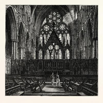 The Choir of Lincoln Cathedral--Giclee Print