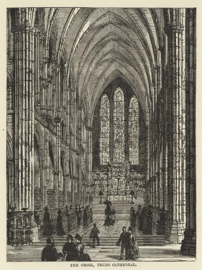 The Choir, Truro Cathedral--Giclee Print
