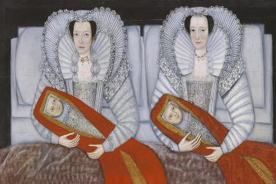 The Cholmondeley Ladies- British School 17th century-Giclee Print