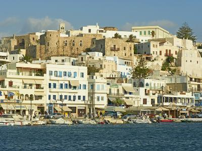The Chora (Hora), Naxos, Cyclades Islands, Greek Islands, Aegean Sea, Greece, Europe-Tuul-Photographic Print