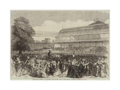 The Choral Festival on Saturday Last at the Royal Horticultural Society's Gardens--Giclee Print