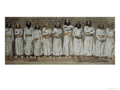 The Choristers-James Tissot-Giclee Print