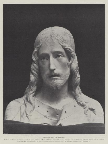 The Christ with the Blue Eyes--Giclee Print
