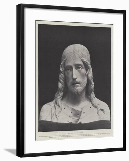 The Christ with the Blue Eyes--Framed Giclee Print