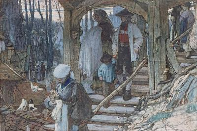 The Christening Gate in Lausanne, C.1861-Matthijs Maris-Giclee Print