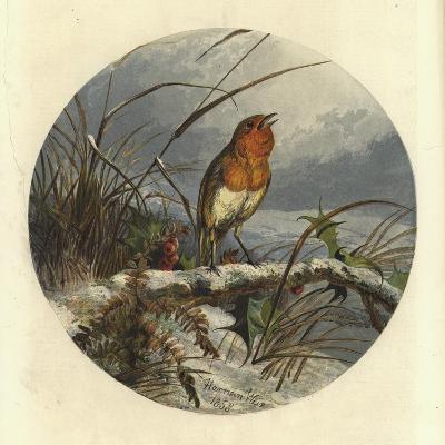 The Christmas Carol Singer-Harrison William Weir-Giclee Print