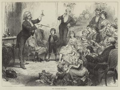 The Christmas Conjuror--Giclee Print