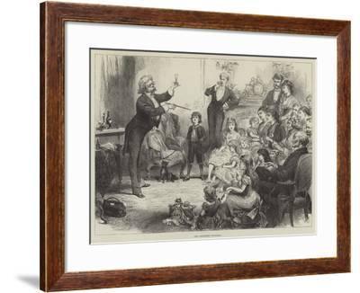 The Christmas Conjuror--Framed Giclee Print