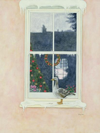 The Christmas Goose-Ditz-Giclee Print