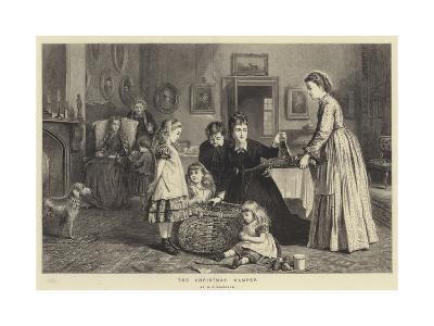 The Christmas Hamper-George Goodwin Kilburne-Giclee Print