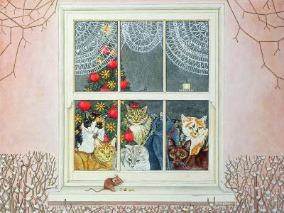 The Christmas-Mouse-Ditz-Giclee Print