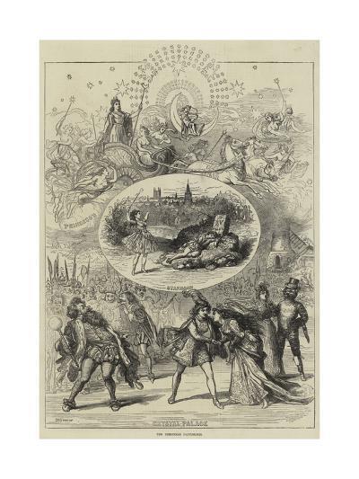 The Christmas Pantomimes-David Henry Friston-Giclee Print