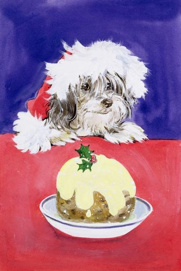 The Christmas Pudding-Diane Matthes-Giclee Print