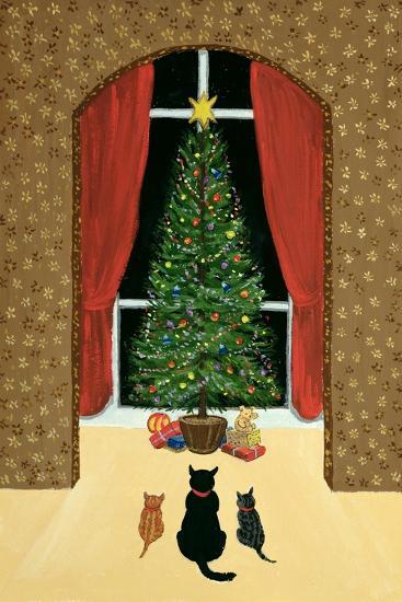 The Christmas Tree-Margaret Loxton-Giclee Print