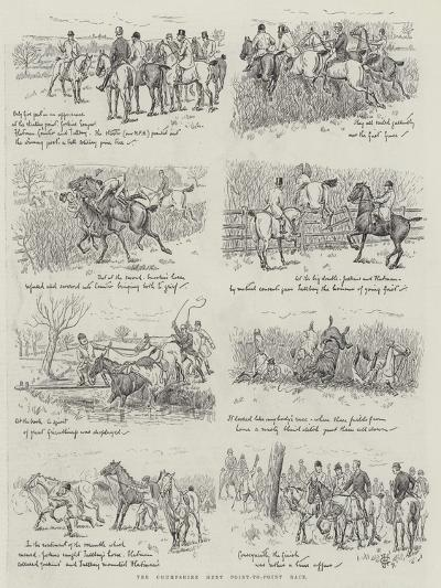 The Chumpshire Hunt Point-To-Point Race--Giclee Print