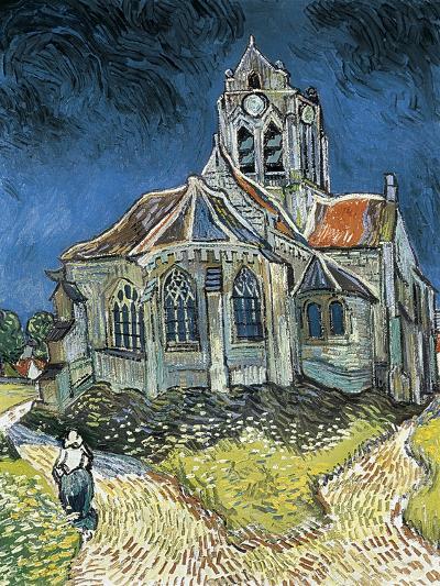 The Church at Auvers-Sur-Oise (L'Église D'Auvers-Sur-Oise, Vue Du Chevet)-Vincent van Gogh-Art Print