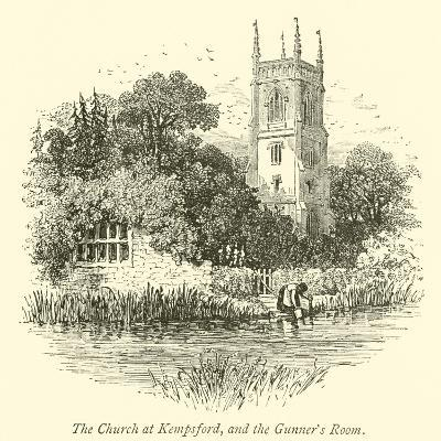 The Church at Kempsford, and the Gunner's Room--Giclee Print