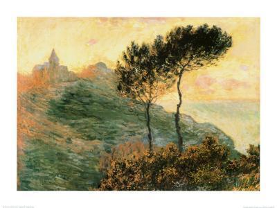 The Church at Varengeville, c.1882-Claude Monet-Art Print