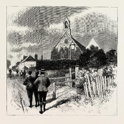 The Church at Which the Cyclists' Service Is Held--Giclee Print