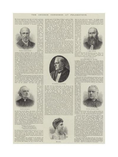 The Church Congress at Folkestone--Giclee Print