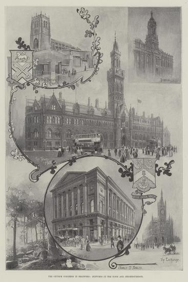 The Church Congress in Bradford, Sketches in the Town and Neighbourhood--Giclee Print