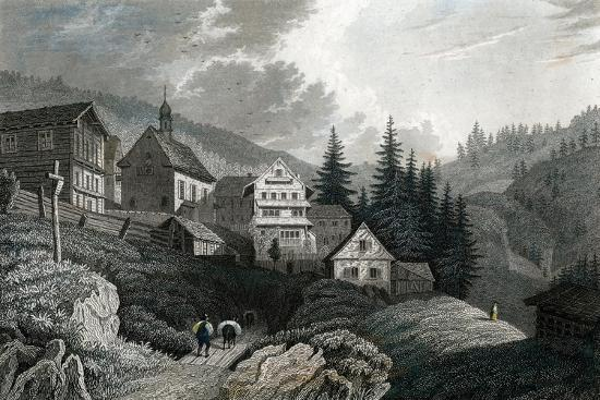 The Church Maria Schnee, Rigi, Switzerland, 1850-Martini-Giclee Print