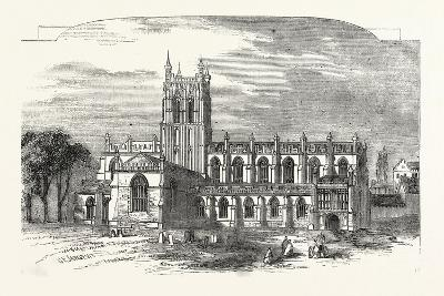 The Church of Great Malvern, UK--Giclee Print