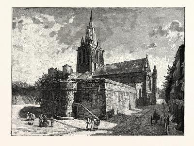 The Church of Notre Dame Calais--Giclee Print