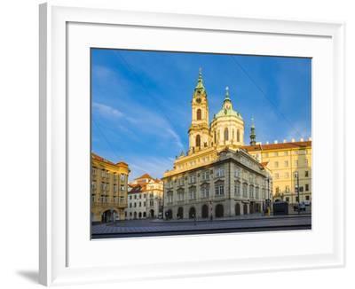 The Church of Saint Nicholas, Malostranska Namesti square, Prague, Czech Republic-Jason Langley-Framed Photographic Print