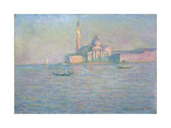 The Church of San Giorgio Maggiore, Venice, 1908-Claude Monet-Giclee Print