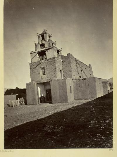 The Church of San Miguel, the Oldest in Santa Fe, N.M., 1873-Timothy O'Sullivan-Photographic Print