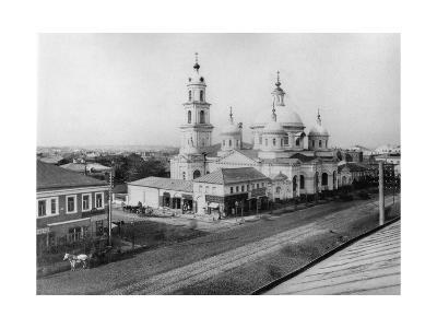 The Church of St Basil of Caesarea, Moscow, Russia, 1889- Scherer Nabholz & Co-Giclee Print