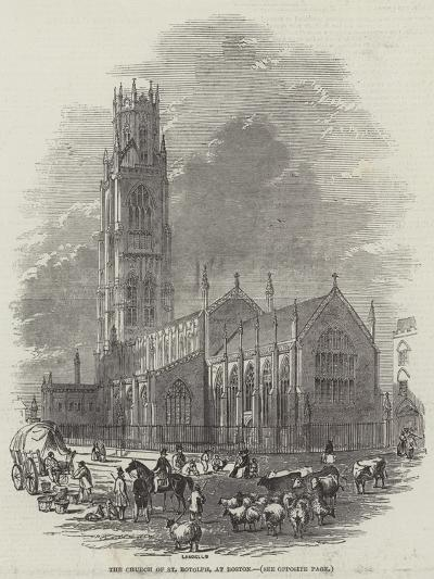 The Church of St Botolph, at Boston--Giclee Print