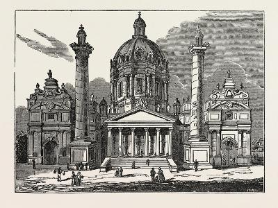 The Church of St. Charles Borromaeus in Vienna, Austria--Giclee Print