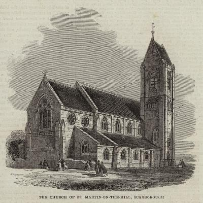 The Church of St Martin-On-The-Hill, Scarborough--Giclee Print