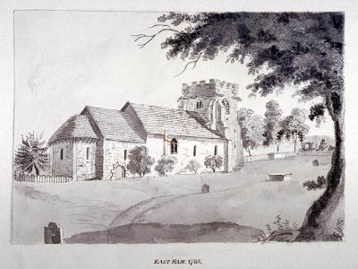 The Church of St Mary Magdalene, East Ham, Newham, London, 1785--Giclee Print