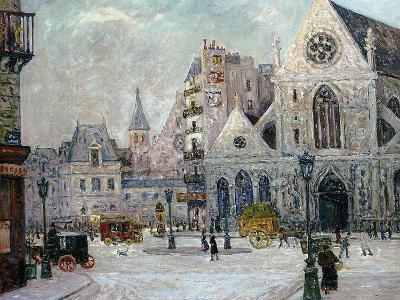 The Church of St. Nicolas-Des-Champs, Rue St. Martin, Paris, 1908-Maxime Emile Louis Maufra-Giclee Print