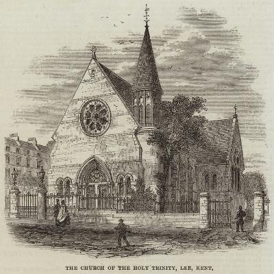 The Church of the Holy Trinity, Lee, Kent--Giclee Print