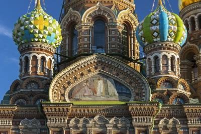 The Church of the Spilled Blood.-Jon Hicks-Photographic Print