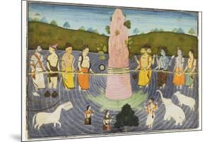 The Churning of the Ocean of Milk, C.1700