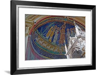 The Ciborium and Apse Mosaic With--Framed Giclee Print