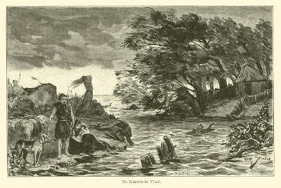 The Cimbrian Flood-Willem II Steelink-Giclee Print