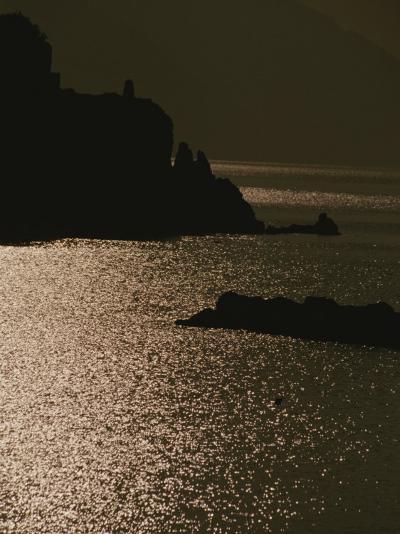The Cinque Terre Coast at Sunset-Raul Touzon-Photographic Print