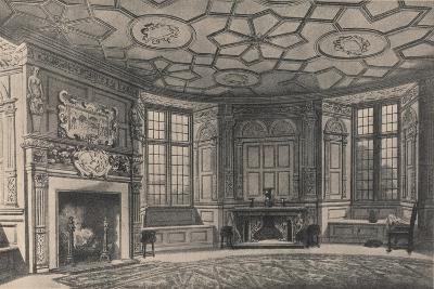 The Circular Dining-Room, Longford Castle, Wiltshire, 1915-CJ Richardson-Giclee Print
